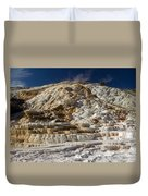 Mammouth Hot Springs Duvet Cover