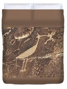 Man In Beak Duvet Cover