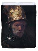 Man In The Golden Helmet Duvet Cover