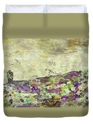 Man In The Lansdscape By Mary Bassett Duvet Cover