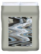 Man In The Moon Travels To Earth Duvet Cover