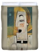 Man Of The Cloth Duvet Cover