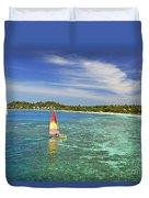 Mana Island Lagoon Duvet Cover