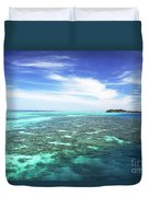 Mana Island Waters Duvet Cover