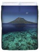 Manado Tua Island Duvet Cover