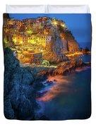 Manarola Lights Duvet Cover