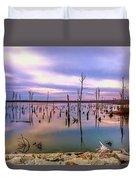 Manasquan Sunrise Duvet Cover