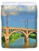 Manayunk Bridge Duvet Cover