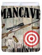 Mancave Hunt Tail Duvet Cover