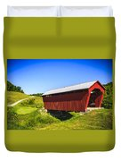 Manchester  Covered Bridge Duvet Cover