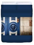 Manchester Doorway Duvet Cover