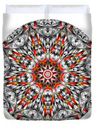 Mandala - Amulet 873 For Those Born In ..... Duvet Cover