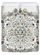 Mandala Earth And Water 4 Duvet Cover