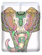 Mandala Elephant Psicodelic Duvet Cover