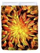 Mandala Flower  Duvet Cover