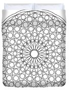 Mandala No 3 Duvet Cover