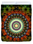 Mandala Of Loves Journey Duvet Cover