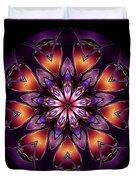 Mandala - Talisman 1433 Duvet Cover