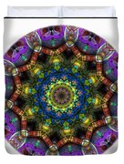 Mandala - Talisman 1526 Duvet Cover