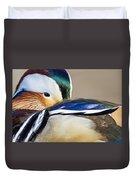 Mandarin Closeup Duvet Cover