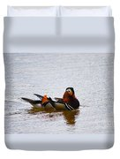Mandarin Duck 20130507_104 Duvet Cover