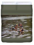 Mandarin Duck 20130507_93 Duvet Cover