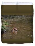 Mandarin Duck 20130508_314 Duvet Cover