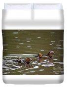 Mandarin Ducks 20130507_96 Duvet Cover