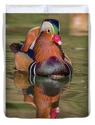 Mandarin Reflection Duvet Cover