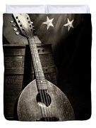 Mandolin America Antique Duvet Cover