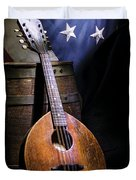 Mandolin America Duvet Cover by Barry C Donovan