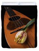 Mandolin And Tulip Duvet Cover