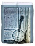 Mandolin Banjo In The Corner Duvet Cover