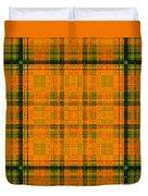 Mandoxocco-wallpaper-orange-green Duvet Cover