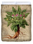 Mandrake Vintage Elements Botanicals Collection Duvet Cover