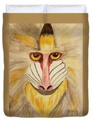 Mandrill Monkey Duvet Cover