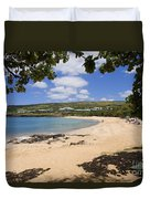 Manele Bay II Duvet Cover