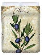 Mangia Olives Duvet Cover