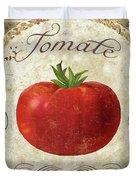 Mangia Tomato Duvet Cover