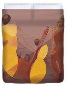 Mango Jazz Duvet Cover