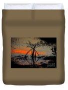 Mangrove Silhouette Duvet Cover