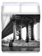 Manhattan Bridge, Afternoon Duvet Cover by Gary Heller