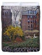 Manhattan Community Garden Duvet Cover