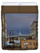 Manhattan Empire State Duvet Cover