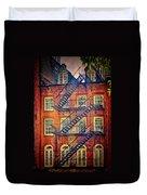 Manhattan Facade Duvet Cover