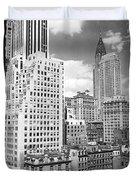Manhattan From Madison Avenue Duvet Cover