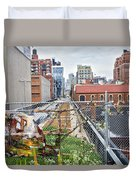 Manhattan High Line Duvet Cover