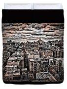Manhattan Landscape Duvet Cover
