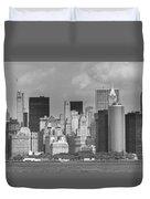 Manhattan New York Duvet Cover