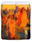 Manhattan Duvet Cover